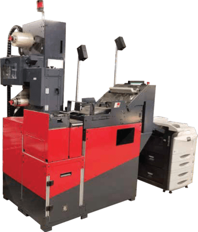 PSI Engineering Autoslip automated packing slip with top or side application